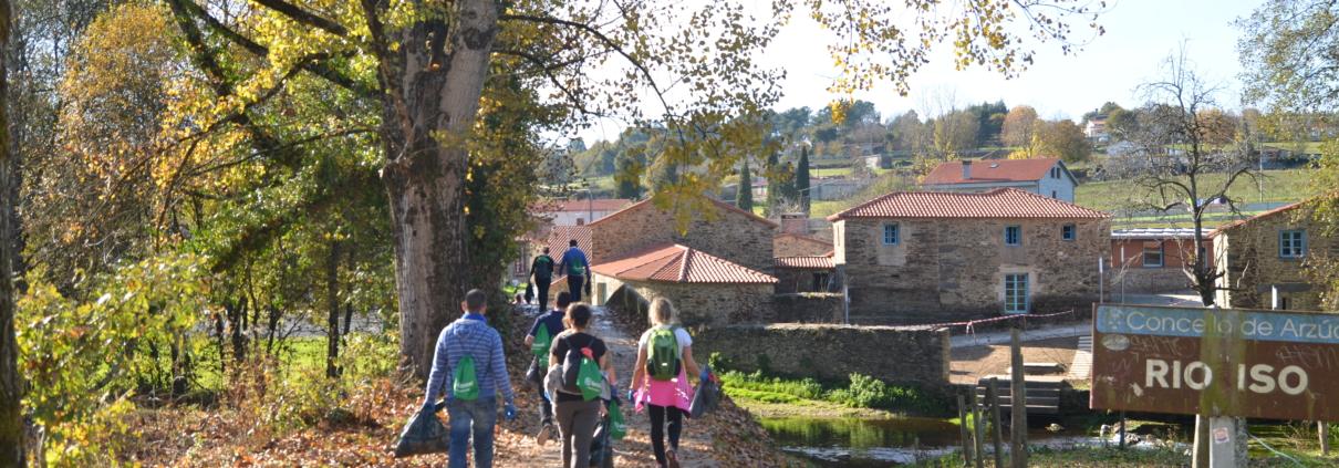 Caminata Inaugural Camino Clean- Llegada a Ribadiso