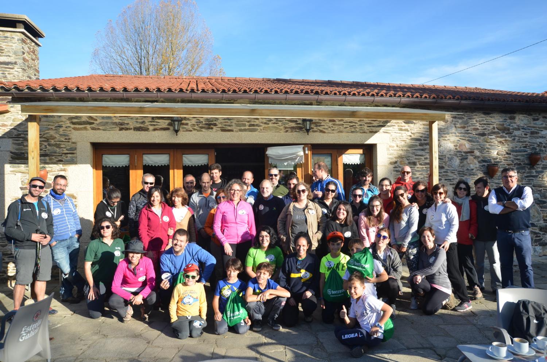 Caminata Inaugural Camino Clean- Foto de grupo