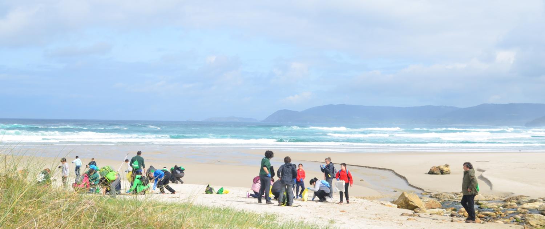 Segunda Salida Camino Clean- Limpiando la Playa