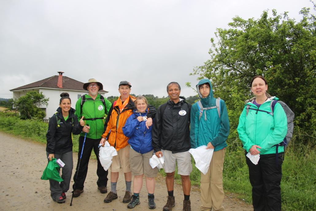 Camino Clean - Nuestro equipo y peregrinos del Camino Portugués